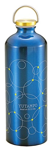 パール金属 アルミ 湯たんぽ ボトル型 900ml ディープブルー リング ...