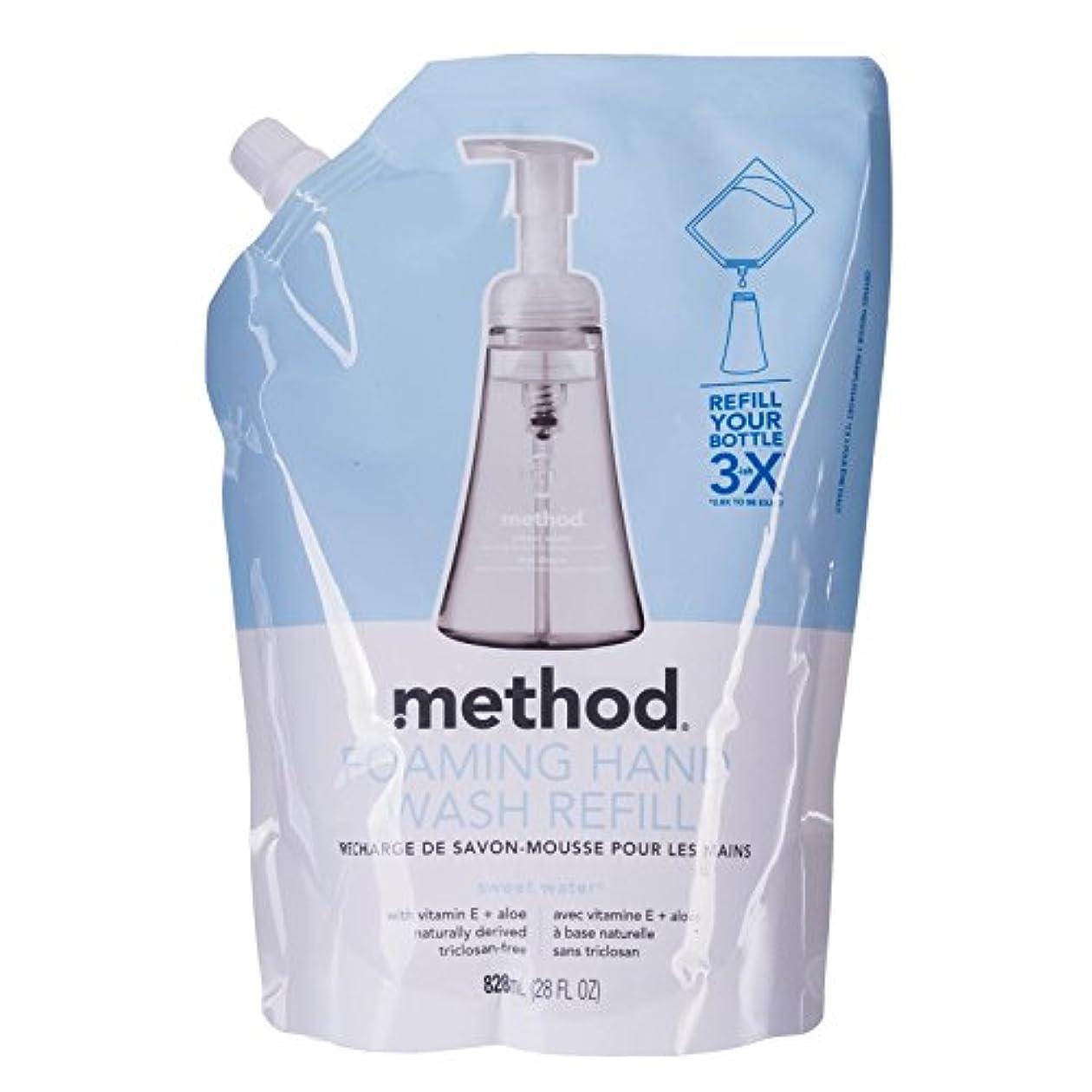 洗剤ポーチコンサルタントメソッド ハンドソープ フォーミングタイプ リフィル スウィートウォーター828mL