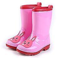 [chenda] 可愛いキッズ用レインブーツ 子供 子供用 長靴 ながぐつ 乳児 幼児 小学生 子ども用 雨靴 キッズ ジュニア 男の子 女の子ガールズ ボーイズ 男女兼用 カラフル 通園 通学 水遊び 梅雨 かわいい ショートブーツ