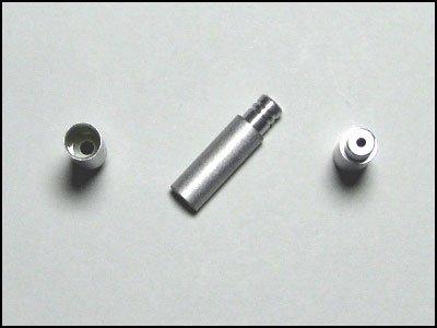 [해외]시마노 순정 변속 용 알루미늄 실드 아우터 캡 (4mm 직경) 4 개/Shimano genuine shift aluminum shield outer cap (4 mm diameter) 4 pieces