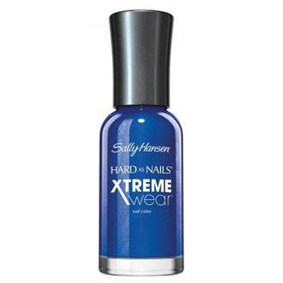 盆ヤング適合する(3 Pack) SALLY HANSEN Hard As Nails Xtreme Wear - Pacific Blue (並行輸入品)