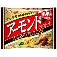 不二家 アーモンドチョコレート 22粒×12袋