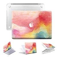 iLover MacBook Air 13インチケース、Apple MacBook Air 13インチ用保護プラスチックハードケースモデル:A1369およびA1466(LK-インクピンク)