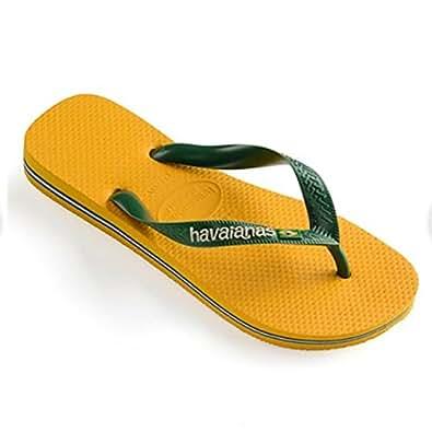havaianas ハワイアナス メンズ ビーチサンダル ブラジルロゴ BRASIL-LOGO bananayellow 28cm