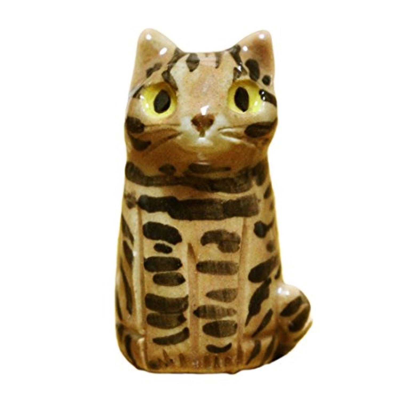 遺骨入れ トラ 猫 信楽焼 SC-3 無地 手元供養 キジ サバ ペット供養 ペット仏具 ペット骨壷