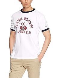 (チャンピオン)Champion リンガーTシャツ C3-M333 [メンズ]
