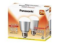 パナソニック LED電球(口金直径26mm ・全光束300lm・電球20W形相当・消費電力4.3W・2個入り・電球色相当) LDA4LH2T