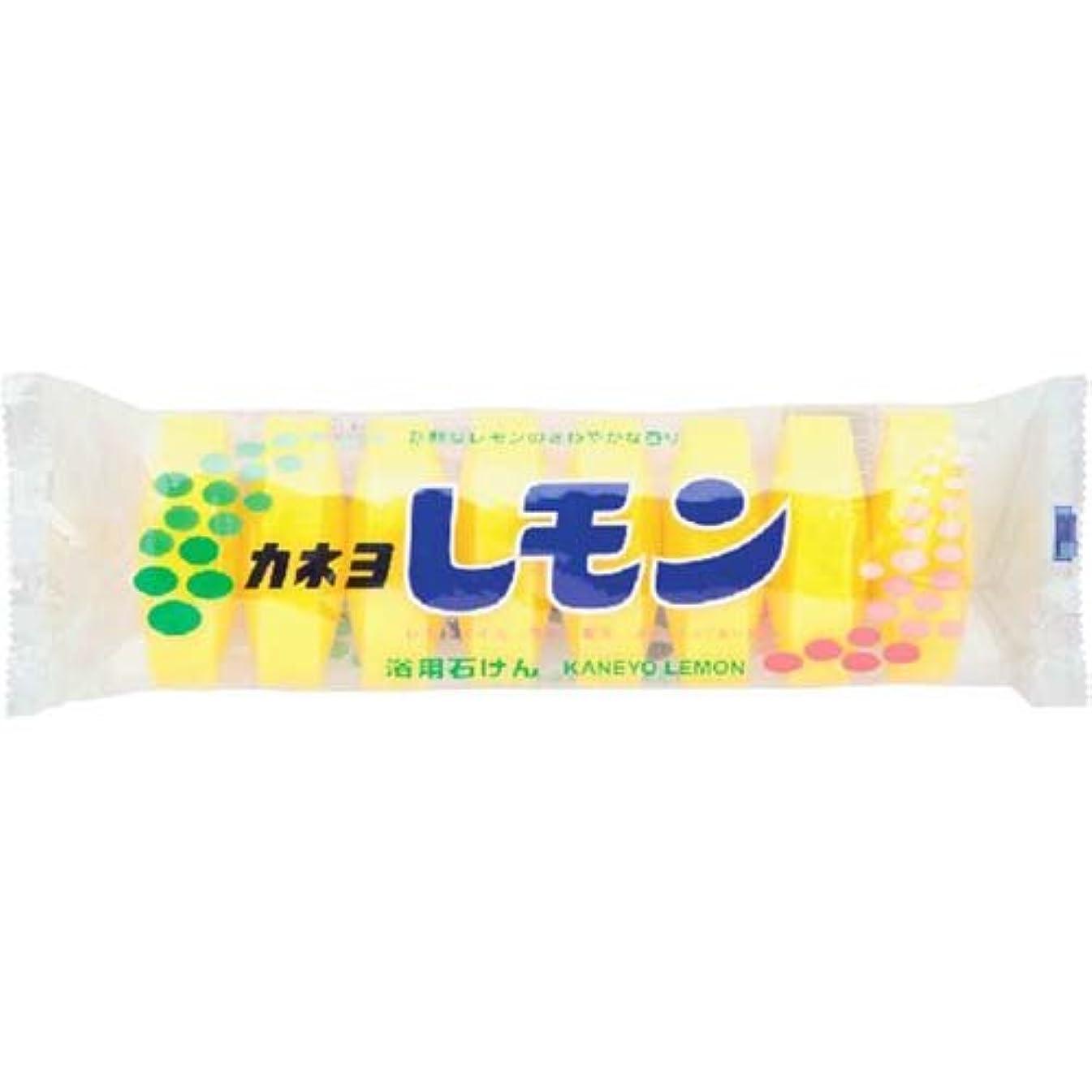 妻本土ショートカットカネヨ レモン石鹸 8個