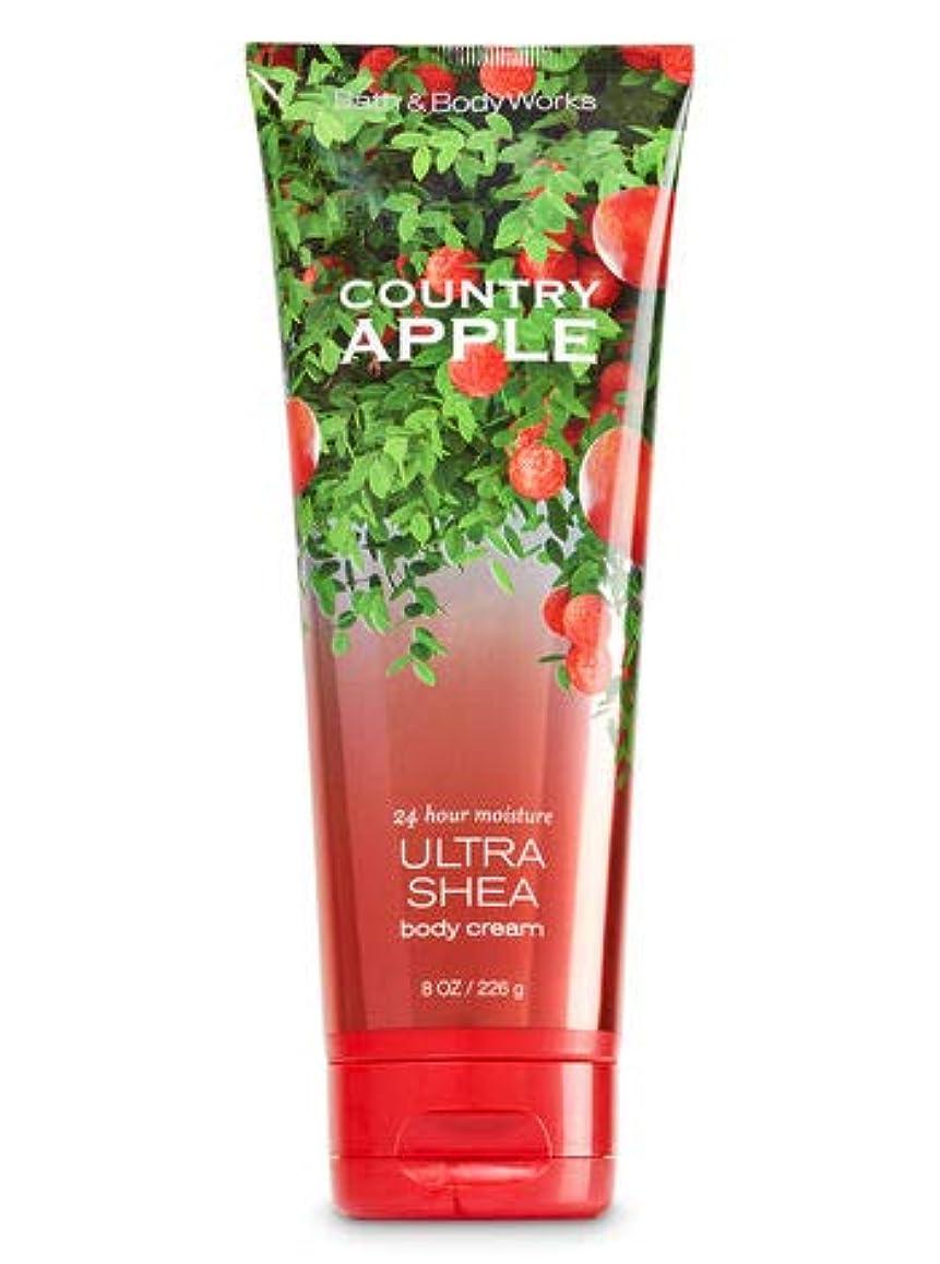 日焼け虚偽救急車【Bath&Body Works/バス&ボディワークス】 ボディクリーム カントリーアップル Ultra Shea Body Cream Country Apple 8 oz / 226 g [並行輸入品]