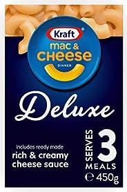 Kraft Mac & Cheese Deluxe Dinner Pasta,