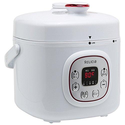 TOHO RELICIA コンパクト電気圧力鍋 2L RLC-PC02RF