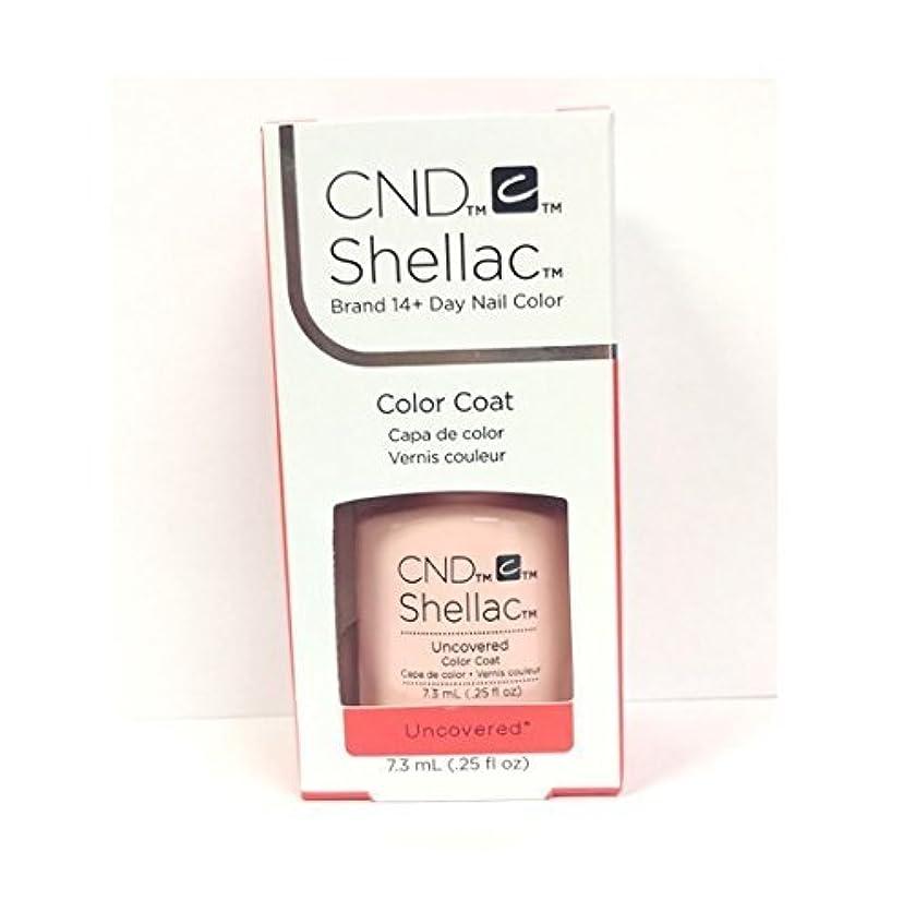 言い訳積極的に中毒CND Shellac - The Nude Collection 2017 - Uncovered - 7.3 mL / 0.25 oz