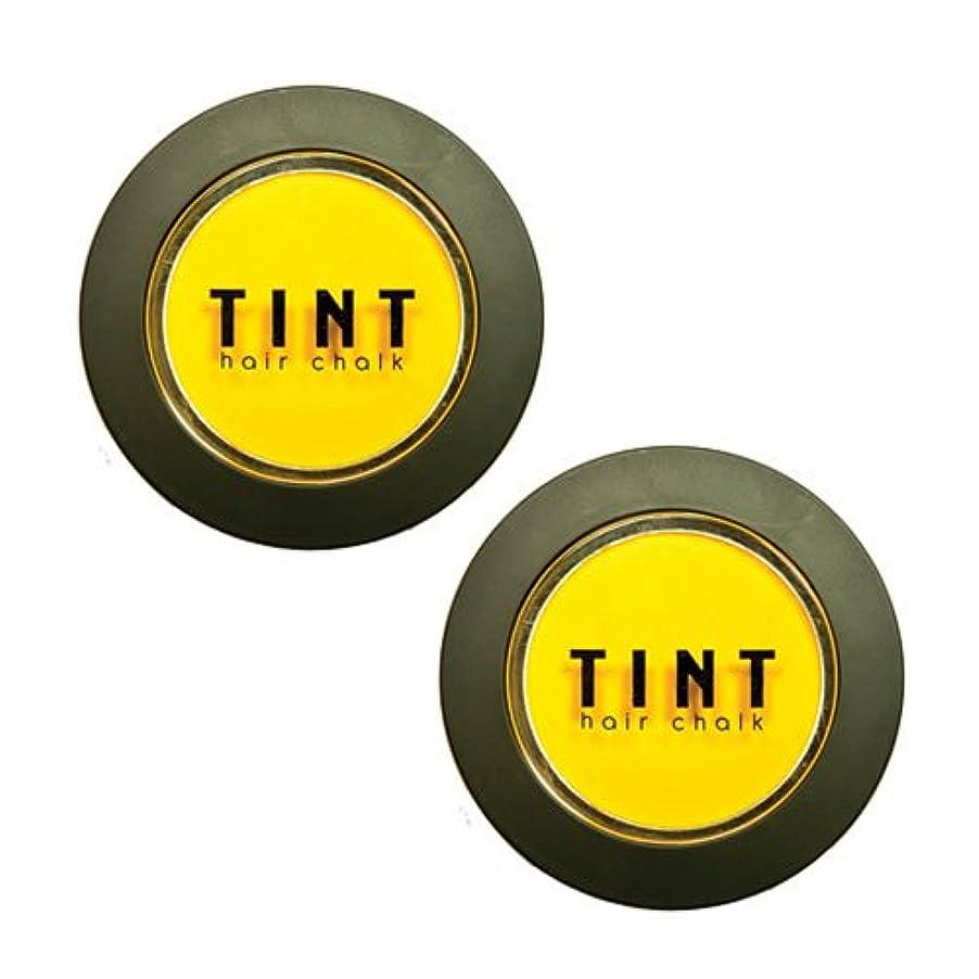 避難する腫瘍松FINE FEATHERHEADS TINTヘアチョーク Sunburst 2個セット