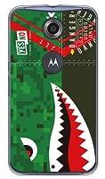 YESNO シャーク デジタルカモ (クリア) / for Nexus 6/Y!mobile  YMRNX6-PCCL-201-N150