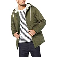 French Connection Men's Sherpa Lined Parka
