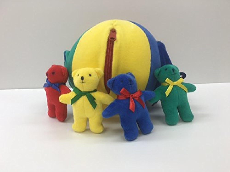知育玩具 布のおもちゃ ベアーボール