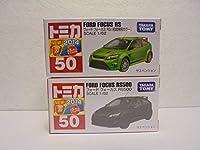 絶版赤箱 No.50 フォード フォーカス RS 通常+初回特別カラー 2台セット 新車シール