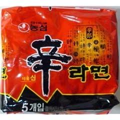 農心 辛ラーメン120g 20袋(5袋入×4)セット