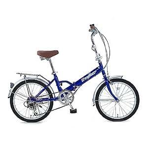 Raychell(レイチェル) 6段変速折り畳み自転車/MF-206 ブルー 20インチ MF-206BL