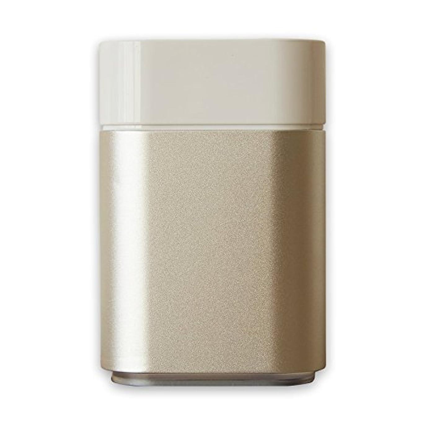 ポンペイピースファイバアロマディフューザー UR-AROMA04 卓上 小型 Uruon(ウルオン)水を使わない アロマ ネブライザー式 水なし ダイレクトオイル 製油瓶直噴式 超音波式 USB 卓上 油性 水性 静音 アロマオイル