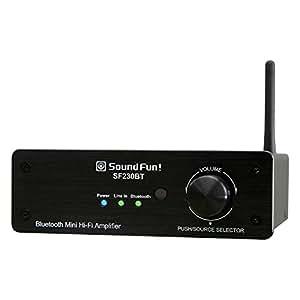 BT4.2にバージョンアップして値下げしました!Bluetooth4.2受信対応30WX2小型デジタルアンプSF230BT