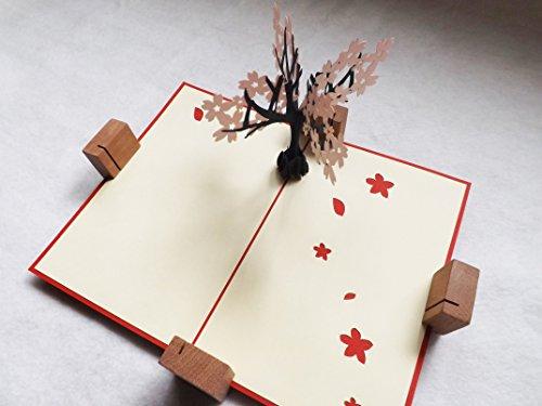 全100種以上 立体ポップアップ グリーティングカード: 桜・満開:OT-012 誕生日・ギフトカード・友達・おめでとう・結婚祝い・感謝状・メッセージカード・卒業 入学 お祝い 出発