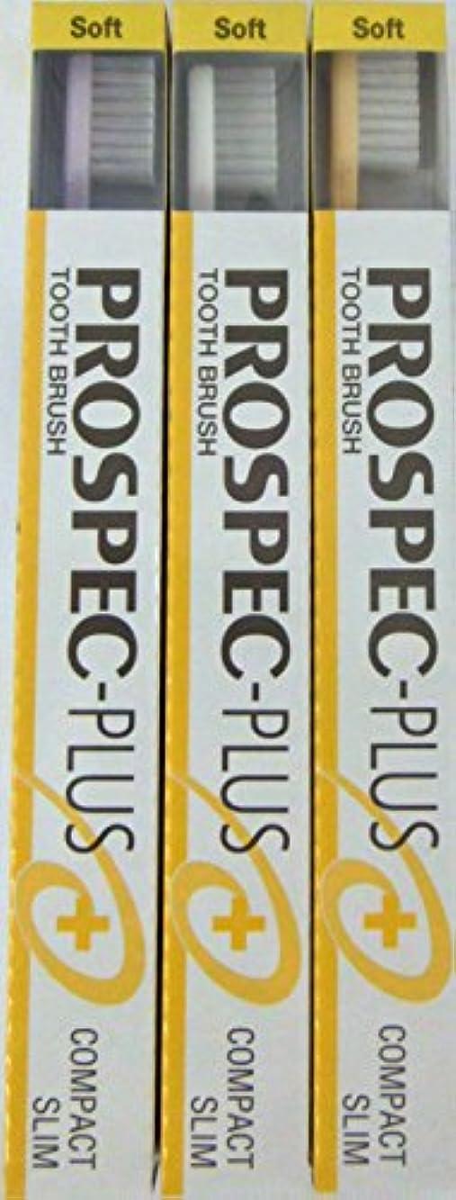 オフセット深くフリルGC プロスペック 歯ブラシプラス コンパクトスリム S (3本セット)