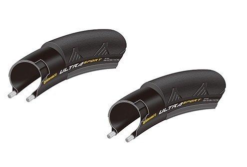 2本セット Continental(コンチネンタル) UltraSport2 ウルトラスポーツ2 700c(23c,25c)クリンチャー (700×2...