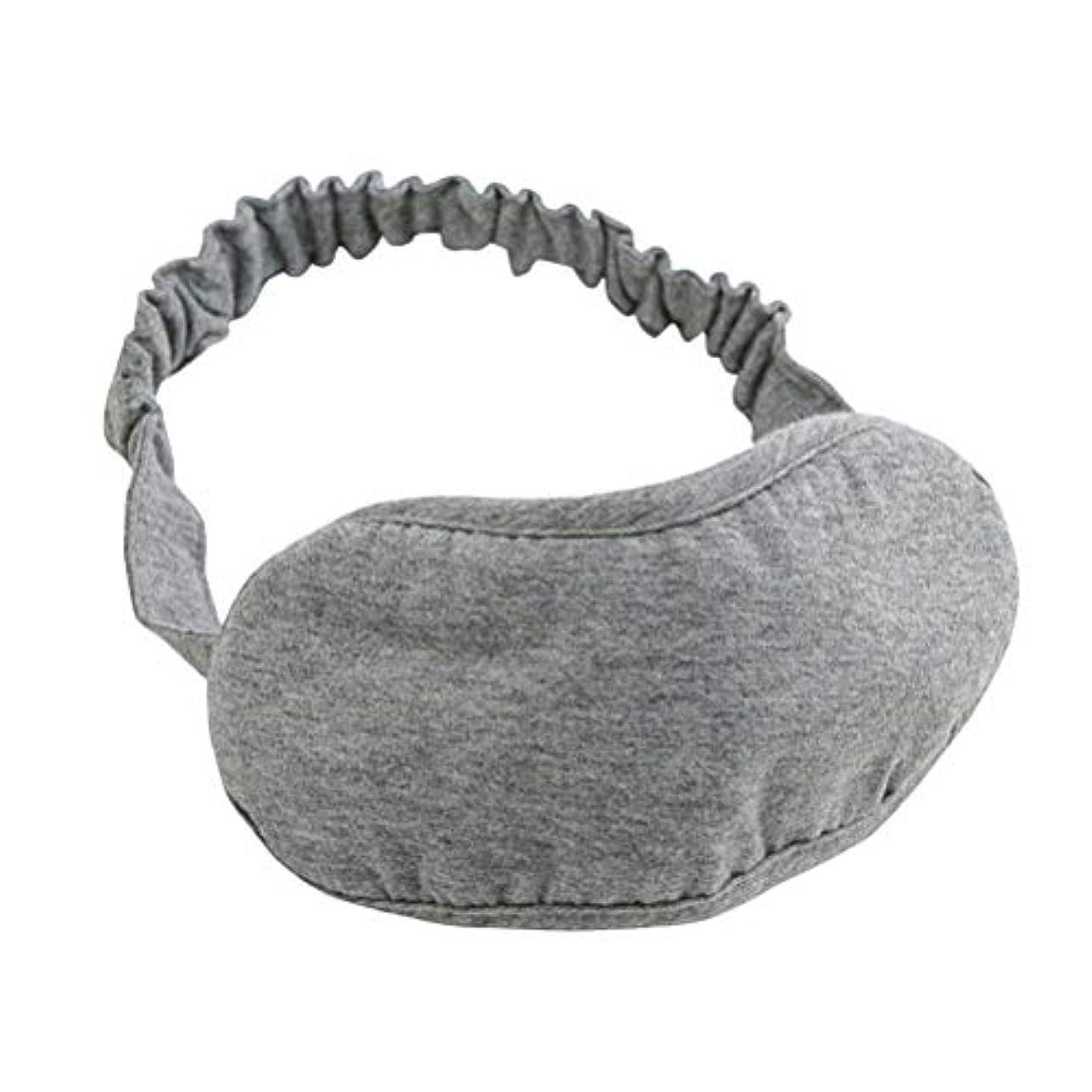 強打器官式SUPVOX 睡眠マスクコットンアイマスク厚手の目隠しアイカバー女性のための子供たちの子供ホームベッド旅行のフライトカーキャンプオフィス使用(グレー)