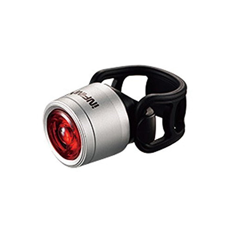 バトル一般的にわかりやすいインフィニ ミニ ルクソ I-270R レッドLED テールライト シルバー(LPT09801)