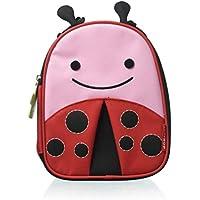 Skip Hop Zoo Lunchie Insulated Kids Lunch Bag, Ladybug