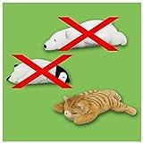 ZooZooZoo つかれた寝~ぬいぐるみ ペンギン・シロクマ・ネコ~ ネコ単品
