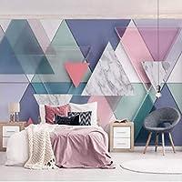 写真の壁紙、現代の3D大理石の幾何学壁画リビングルームの寝室の家の装飾の壁紙、壁3 Dの抽象芸術の壁紙280 cm(W)x 180 cm(H)