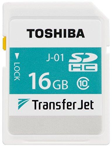 東芝 TransferJet搭載 SDHCメモリカード 16GB SD-TJA016G 1個
