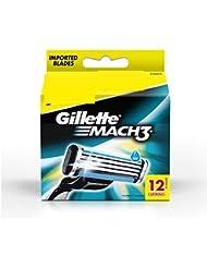 Gillette Mach3 Blade 12 cartridges
