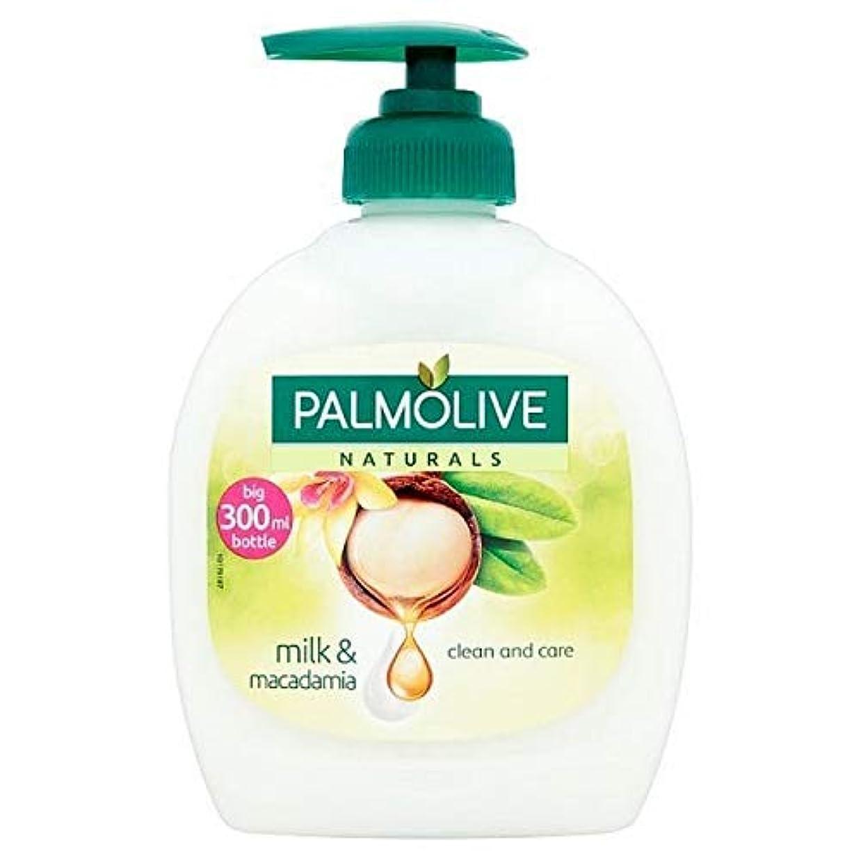 細い雄弁家なぜ[Palmolive ] パルモライブナチュラルマカダミア&バニラ液体手洗いの300ミリリットル - Palmolive Naturals Macadamia & Vanilla Liquid Handwash 300ml...