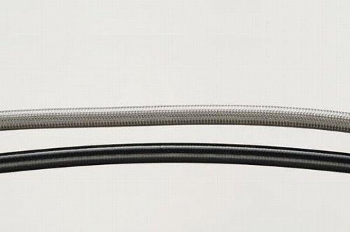 SWAGE LINE(スウェッジライン) フロントブレーキホースKIT ステンレス ブラックスモークホース KSR-2[80cc](90-98) KSR-1[50cc](90-98) STFB640 [HTRC3]