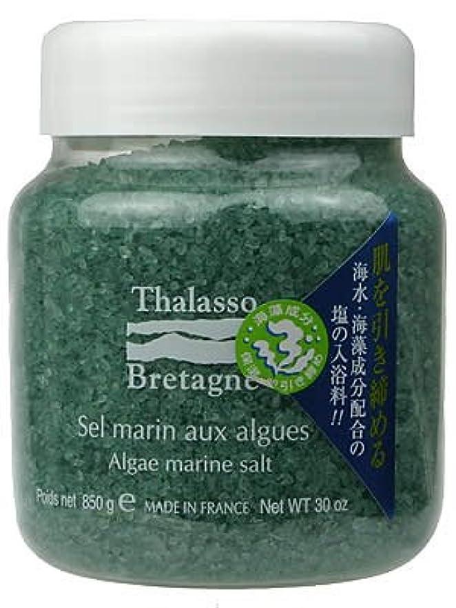 ブロック大腿お茶タラソドブルターニュ アルグマリンソルト 850g