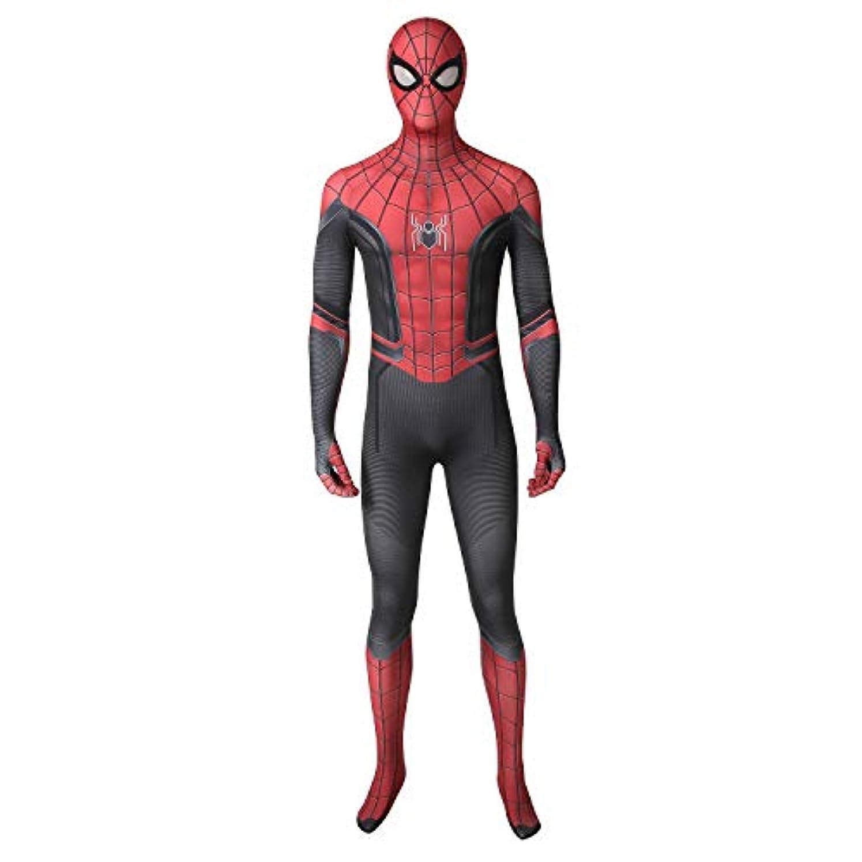 残る選ぶ繁栄COSMORE スパイダーマン:ファー?フロム?ホーム Spider-Man Far From Home ピーター?パーカー Peter?Parker コスプレ衣装 cosplay コスチューム コス 仮装 変装 (男性S)