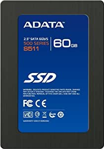 A-DATA SSD S511シリーズ 2.5インチ 60GB SATA6.0Gb/s AS511S3-60GM-C