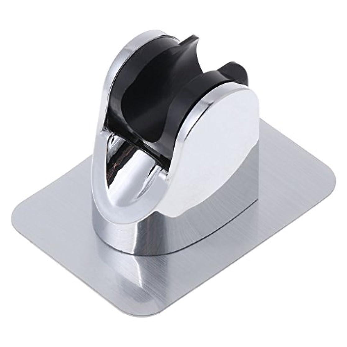 ピック長方形反映するLamdooヘッドホルダー調節可能ドリルブラケットマウントシャワーハンドなしステッカー