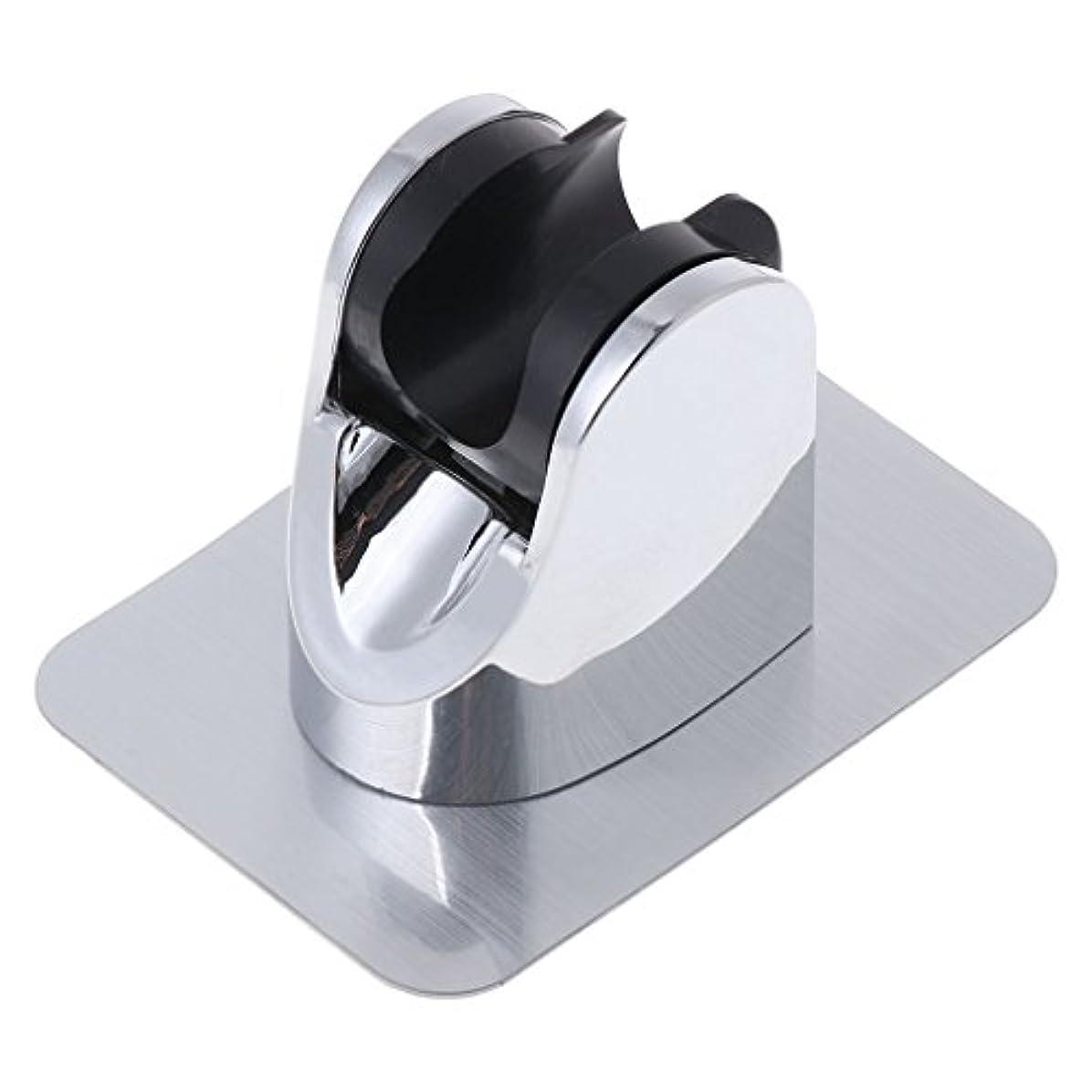 テメリティモディッシュゼリーLamdooヘッドホルダー調節可能ドリルブラケットマウントシャワーハンドなしステッカー