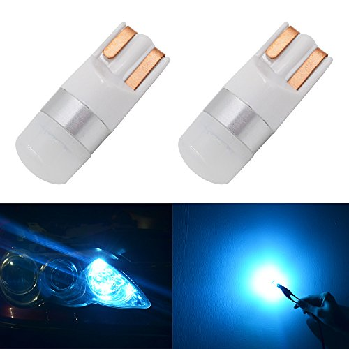 Calais 爆光 194 168 175 2825 T10 W5W アイスブルー ウエッジタイプ LED バブル 車幅灯 車内ランプ ライセンスランプ ドームライト 2個セット