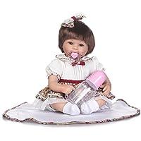 SanyDoll Rebornベビー人形ソフトSilicone 18インチ45 cm磁気Lovely Lifelike Cute Lovely Baby美しいスカート