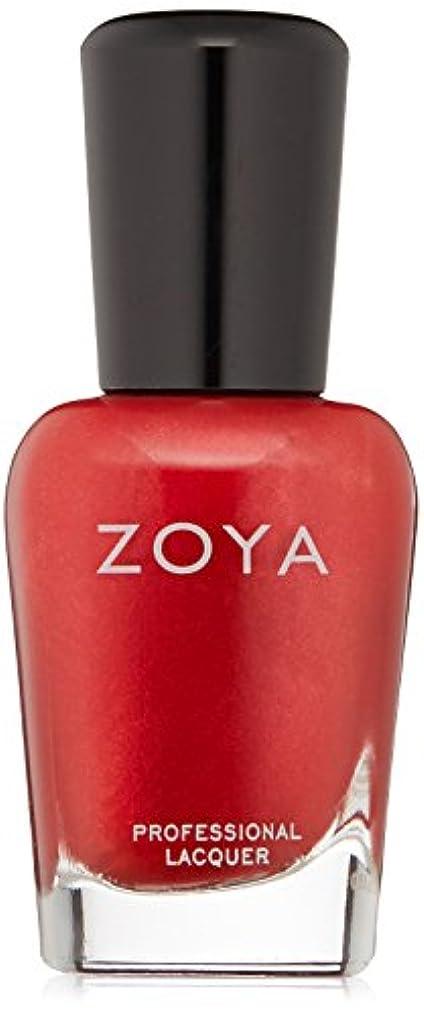 モールス信号実験申し込むZOYA ゾーヤ ネイルカラー ZP632 ELISA エリサ 15ml  2012 DIVA COLLECTION メタリックレッド グリッター/メタリック 爪にやさしいネイルラッカーマニキュア
