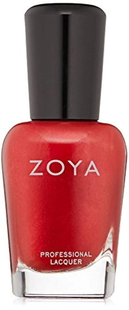 評論家奪う飼い慣らすZOYA ゾーヤ ネイルカラー ZP632 ELISA エリサ 15ml  2012 DIVA COLLECTION メタリックレッド グリッター/メタリック 爪にやさしいネイルラッカーマニキュア