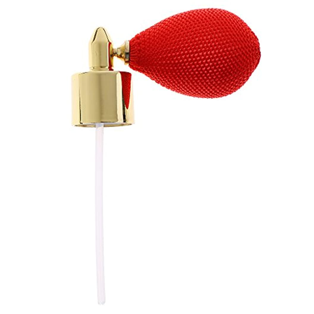 オーディション結晶風変わりなクリスタル 香水ボトル 交換パーツ スプレーポンプ アトマイザー トラベル アクセサリー 赤