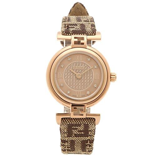 [フェンディ] 腕時計 レディース FENDI F275272DF ピンクゴールド ブラウン [並行輸入品]