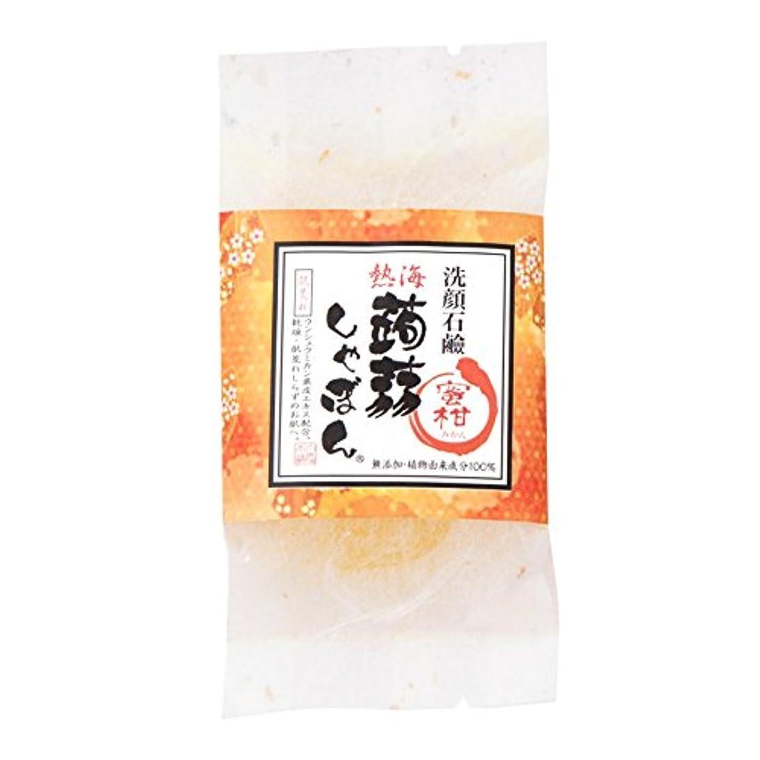 副産物嫌がらせ補足熱海蒟蒻しゃぼん熱海 蜜柑(みかん)
