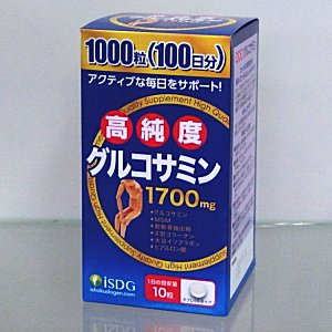 高純度グルコサミン粒 1000粒